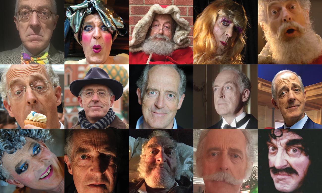 Photo collage of Tim Bartholomew